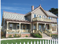 The 1870s James Cass house, first house in Cayucos.