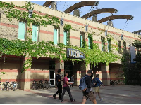 The UCLA bookstore.