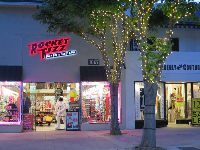 Rocket Fizz candy store.