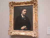 "Sweet painting ""Portrait of Miss Edith Crowe"" by Henri Fantin-Latour."