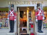 Thinker Toys beckons kids to come inside.