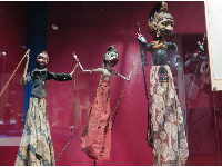 Indonesian rod puppets.