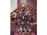 Tree of Life, ceramic, a Mexican popular art tradition.