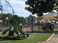 Playground at West Campus housing.