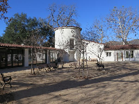 The visitor center.