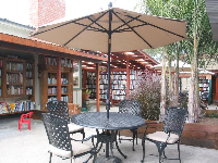 Bart's Books- you're outdoors and yet you're in a bookstore!!