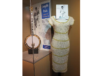 Dress of Georgette Twain, queen of the banjo.
