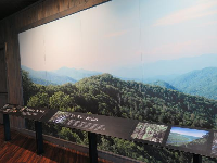 An exhibit about where rivers begin.