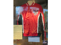 Michael Jordan's Chicago Bulls jacket.