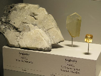 Anglesite from Namibia.