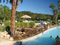 The scenery is beautiful at Lake Casitas Water Park.