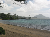 Views of Kahala Resort and Koko Crater.