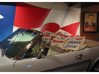 One of the cars used during Reagan's campaign.