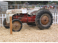 Historical tractor.