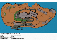 Map of Alcatraz Island found at www.freewebs.com