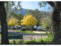 Autumn at the campground.