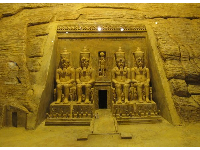 Model of the Temple of Rameses the Great.