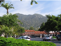 You can't stop looking at the wonderful mountains when you're in Montecito!