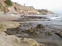 View to the southeast toward Pismo Beach from the tide pools.