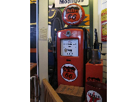Phillips vintage gas pump.