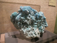 Gem and Mineral Exhibit: Aragonite from China.
