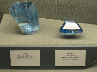 Giant pieces of Topaz from Brazil.
