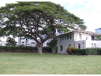 There is plenty of open space on the Punahou campus.