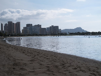 Great views of Diamond Head and the Waikiki skyline. These are even better at night!