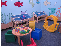 Toddler play room.