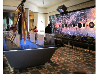 Exhibits inside Griffith Observatory.
