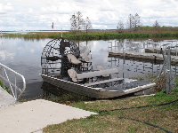 The airboat.