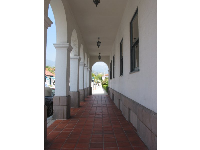 The archways of City Hall.
