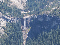 You can see Vernal Falls from Washburn lookout.