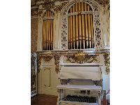 Organ in the music room.