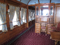 Flagler's personal railcar.