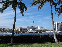 Views across to West Palm Beach.