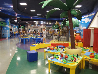 Playmobil FunPark is a huge room filled with toys!