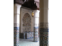 Lovely architecture and tilework.