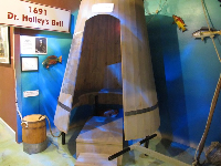Exhibit about Dr. Halley's Bell.