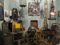 German diving equipment.