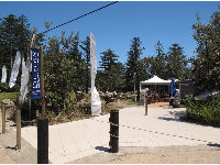 Entrance to The Dunes Restaurant and Kiosk.