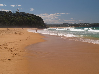Looking toward Monavale Beach from Warriewood.