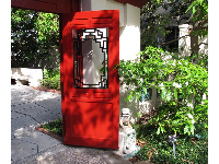 Door to the Chinese garden.