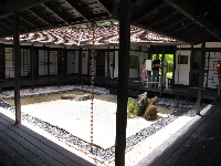 Inner courtyard of the museum building.