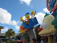 The Simpsons ride!