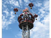 Coney Tower ride way up in the sky!