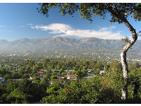 View over downtown from Santa Barbara Heights.