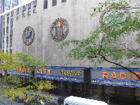 Radio City Music Hall, seen as you wait in line to go up the elevator.