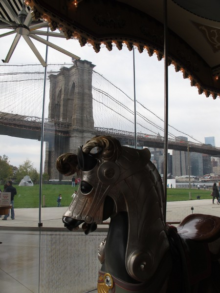 Brooklyn Bridge Park and Carousel, New York City New York