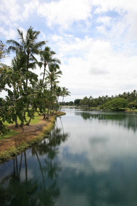Queen Lilioukalani Gardens, Hilo, The Big Island Hawaii